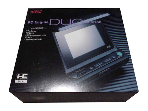 Nec Pc-Engine DUO Monitor Retropixl Retrogaming retro gaming Rare Console Collector Limited Edition Japan Import