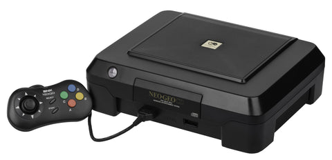 SNK Neo Geo CD Front Loading Retropixl Retrogaming retro gaming Rare Console Collector Limited Edition Japan Import