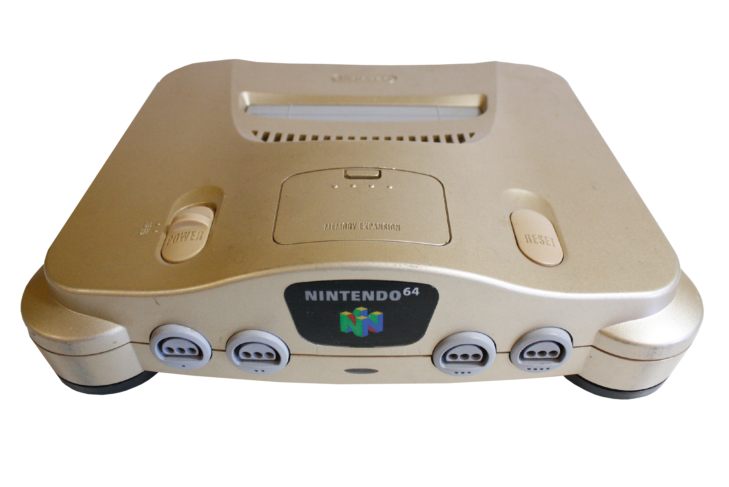 Nintendo 64 Gold Retropixl Retrogaming retro gaming Rare Console Collector Limited Edition Japan Import