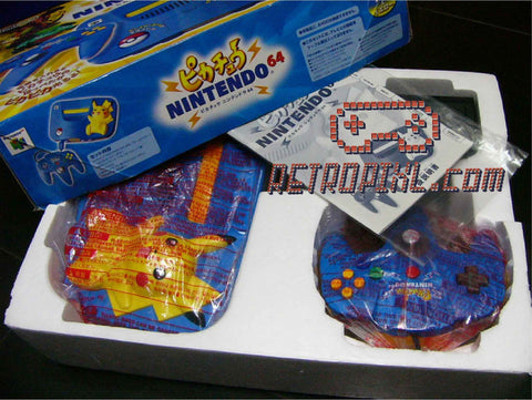 Nintendo 64 Pikachu LIMITED EDTION