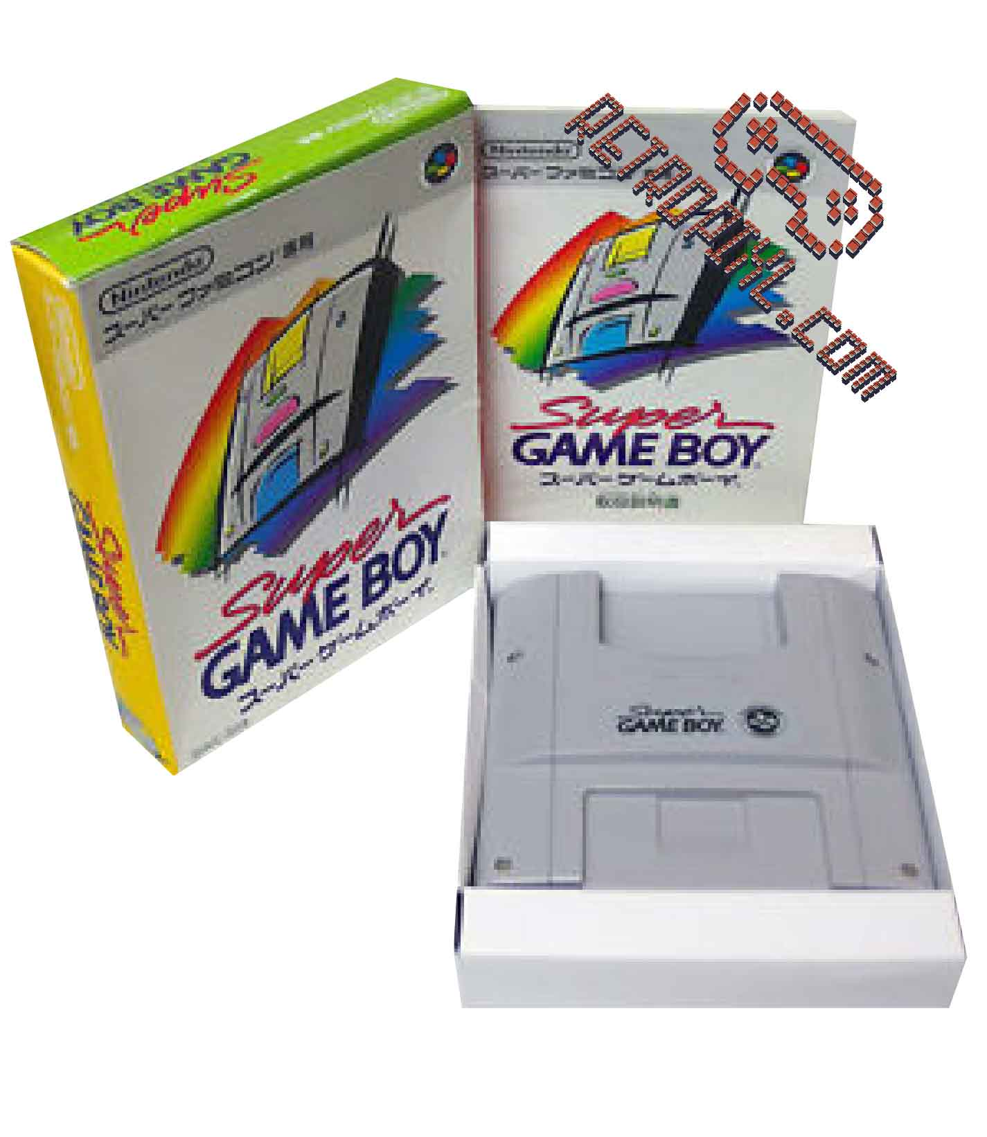 RetroPixl Retrogaming Accessory Nintendo Super Game Boy SNES