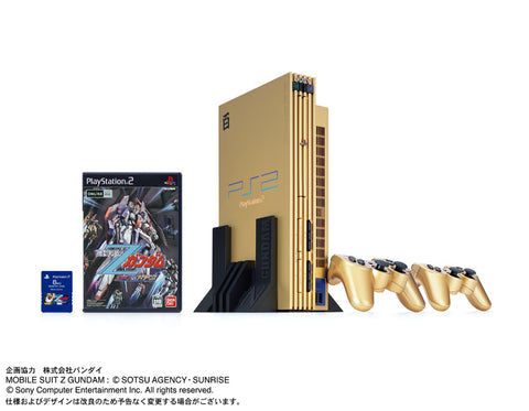 RetroPixl Playstation 2 Zeta Gundam Hyaku Shiki Gold PS2