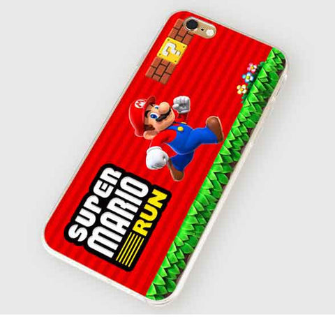 iPhone Mario Run Cover