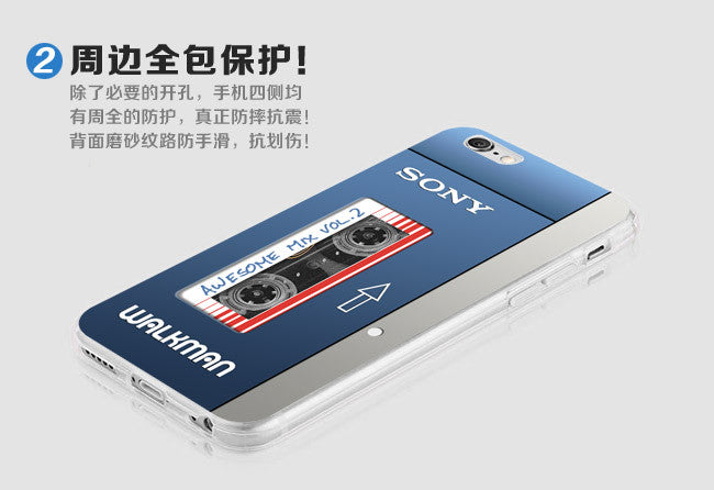 iPhone Walkman Sony Cover Retropixl Retrogaming retro gaming Rare Console Collector Limited Edition Japan Import
