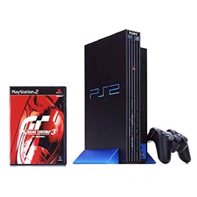 Sony Playstation 2 (PS2) Gran Turismo 3 Pack Retropixl Retrogaming retro gaming Rare Console Collector Limited Edition Japan Import