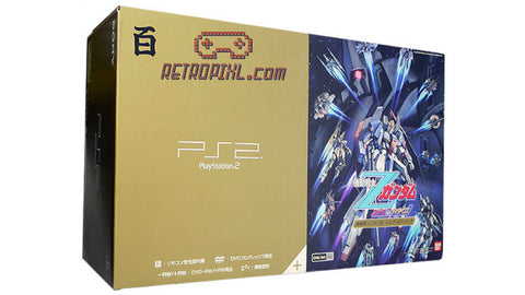 Sony Playstation 2 (PS2) Zeta Gundam Hyaku Shiki Gold LIMITED EDITION