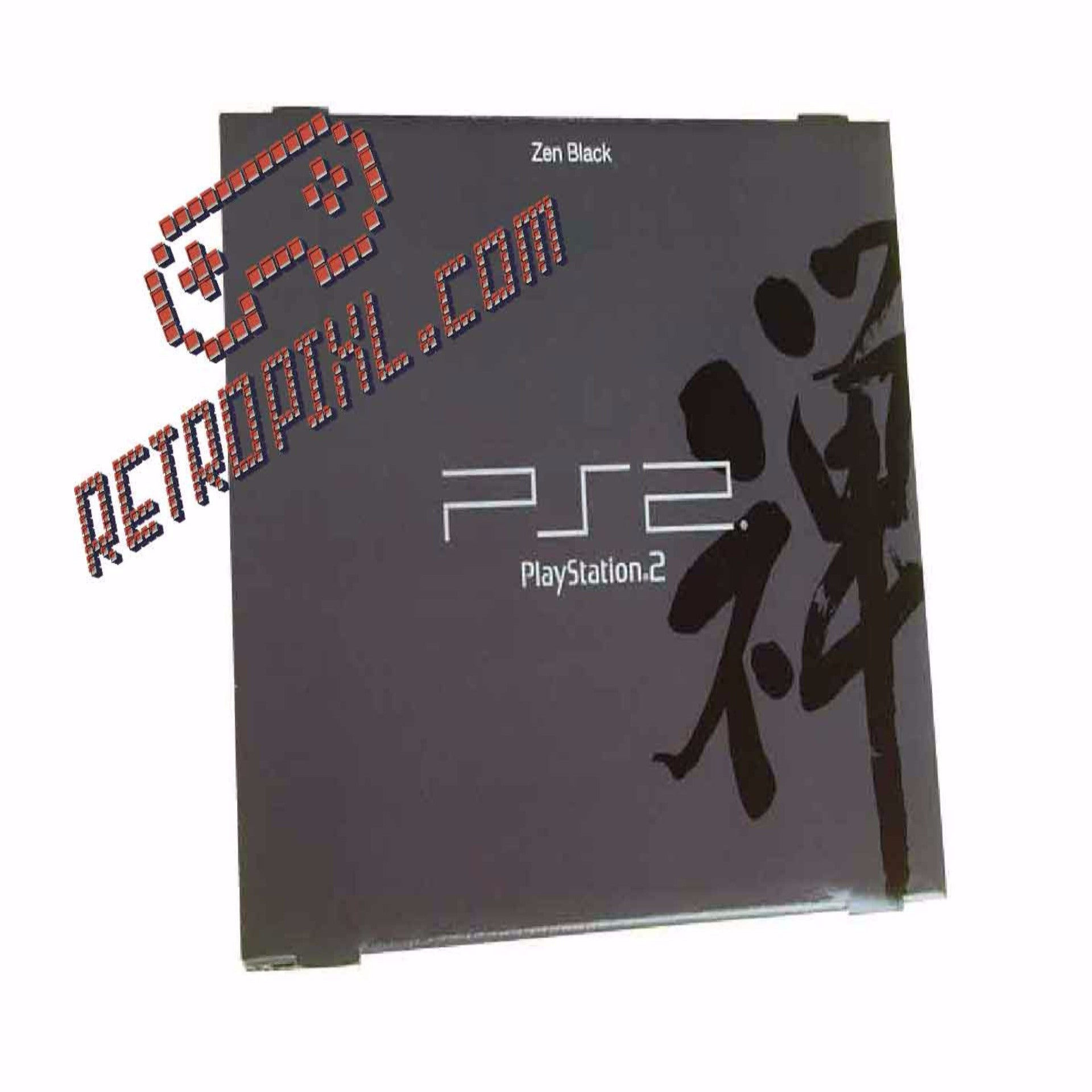 Sony Playstation 2 Zen Black LIMITED EDITION