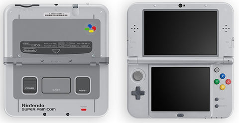 RetroPixl Retrogaming nintendo 3DS LL Super Famicom Limited Edition
