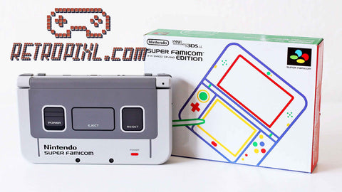 Nintendo 3DS LL Super Famicom LIMITED EDITION