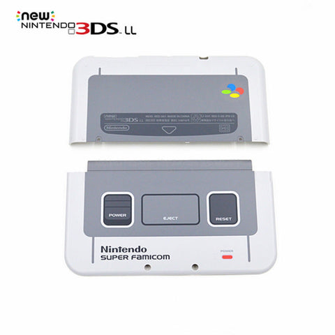 RetroPixl Retrogaming Nintendo 3DS LL Faceplate Super Famicom