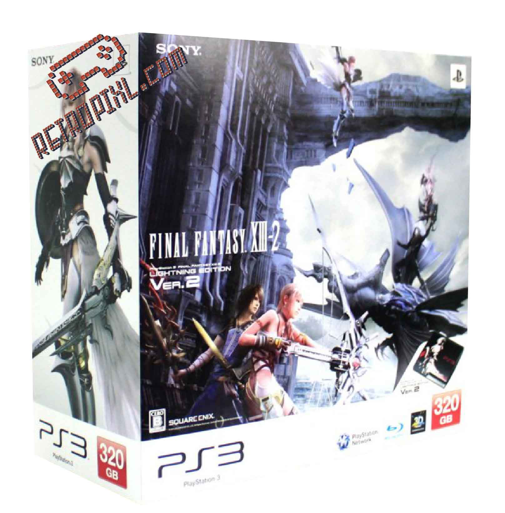 RetroPixl Sony Playstation 3 (PS3)  Final Fantasy 13-2 Lightning Limited edition