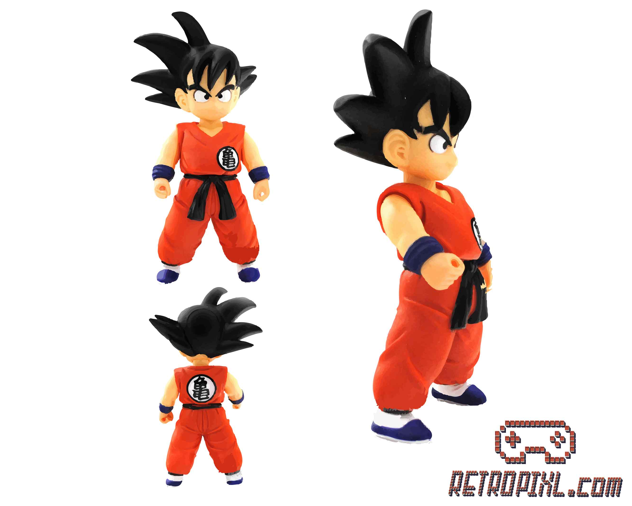 RetroPixl Retrogaming Toys Collectibles Banpresto Dragon Ball Son Goku