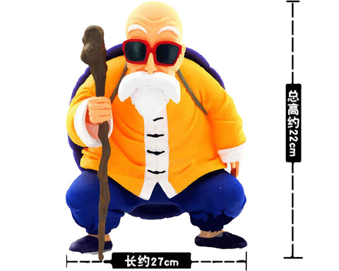 RetroPixl Retrogaming Toys Collectibles Banpresto Dragon Ball Master Roshi - Kame Sennin
