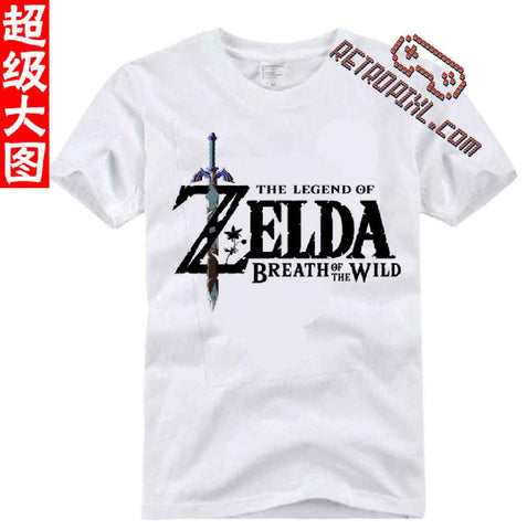 T-Shirt Zelda: Breath of the Wild