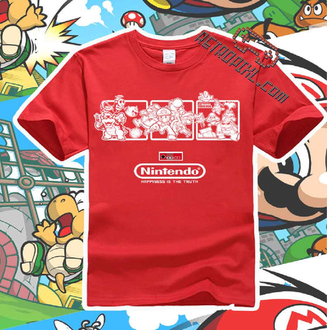 RetroPixl Retro Goodies retrogaming Mario T-shirt Tshirt