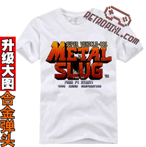 T-Shirt Retrogaming Metal Slug