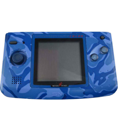 RetroPixl Retrogaming SNK Neo Geo pocket Color Camo Blue Camouflage