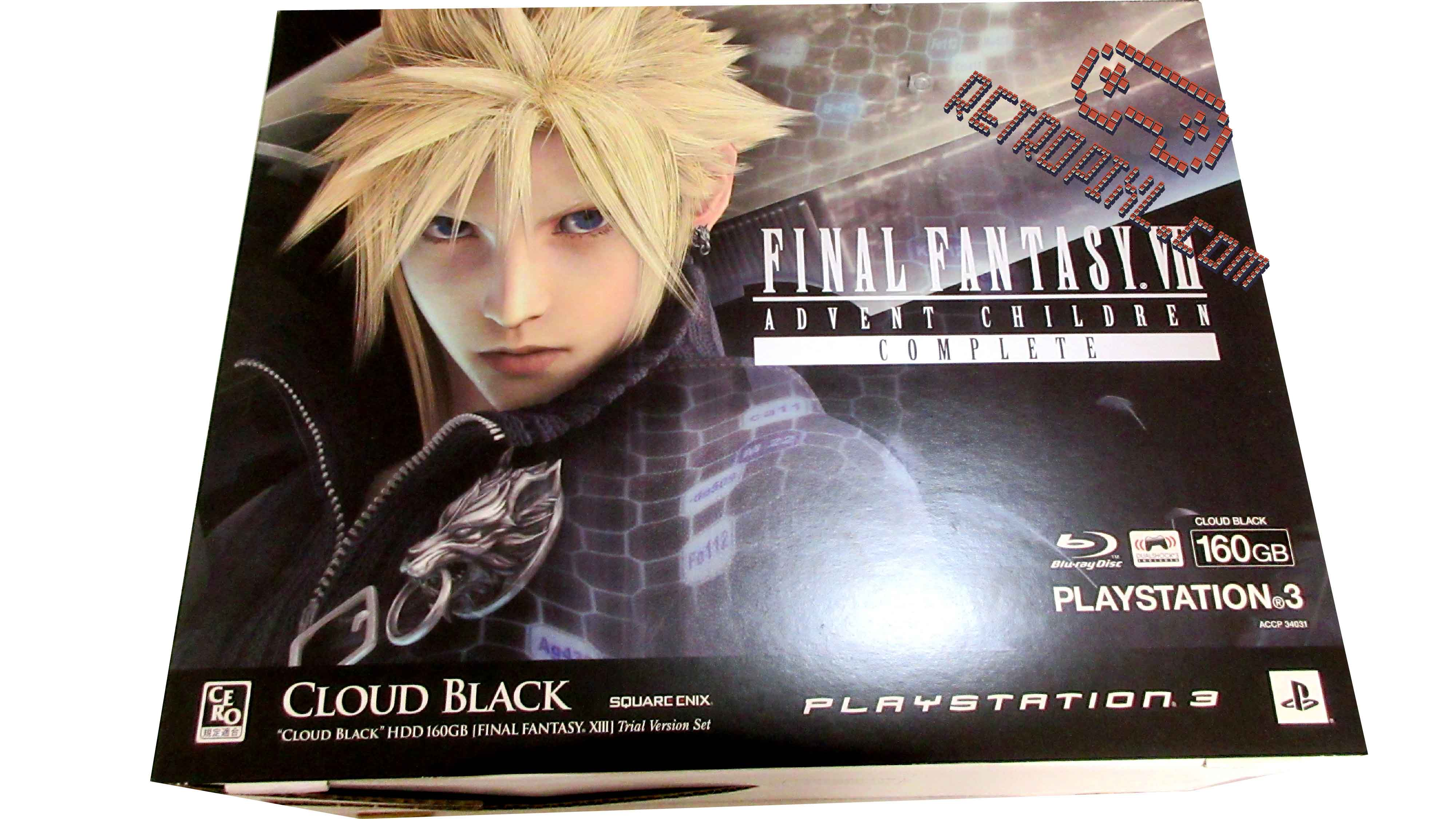 RetroPixl Sony Playstation 3 (PS3) Final Fantasy 7 Advent Children