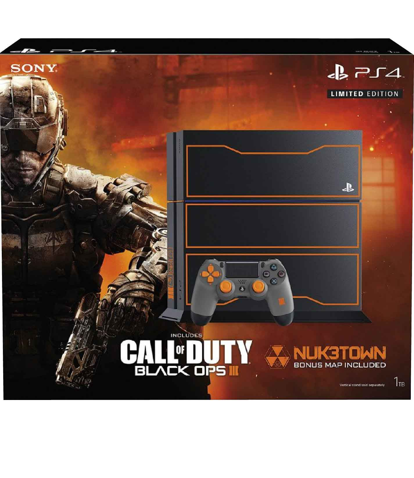 Sony Playstation 4 Ps4 Call Of Duty Black Ops 3 Limited Edition