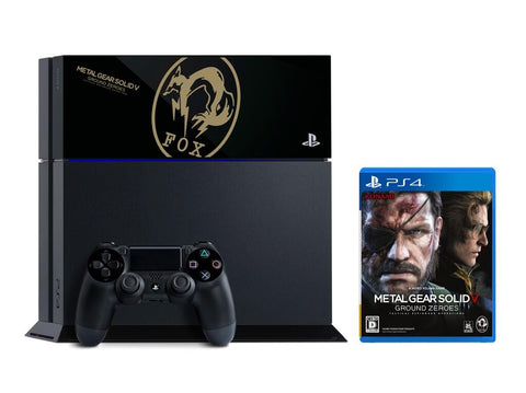 RetroPixl Sony Playstation 4 (PS4) Metal Gear Solid V Ground Zeroes Limited Edition