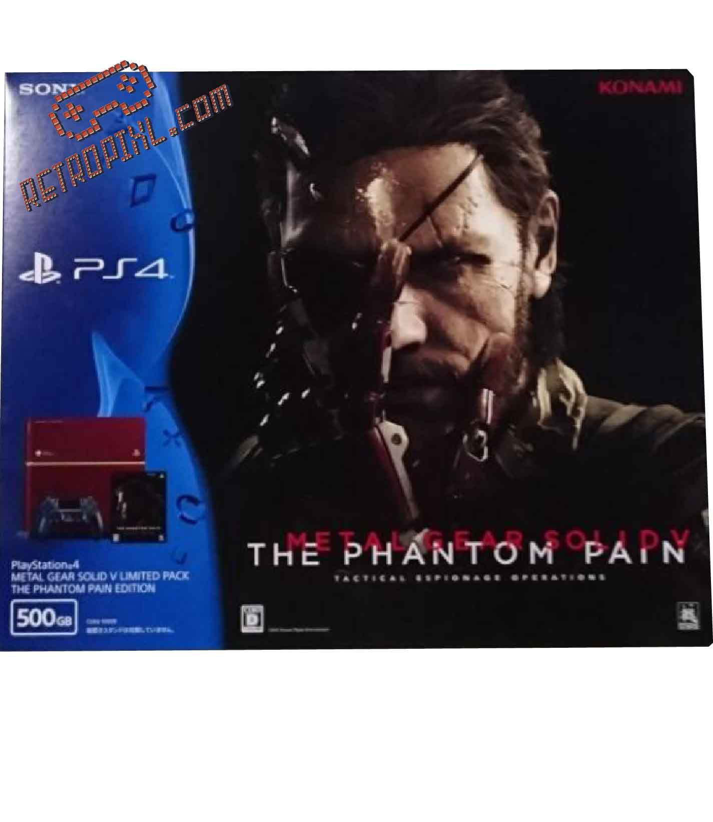 Sony Playstation 4 (PS4) Metal Gear Solid V the Phantom Pain LIMITED EDITION
