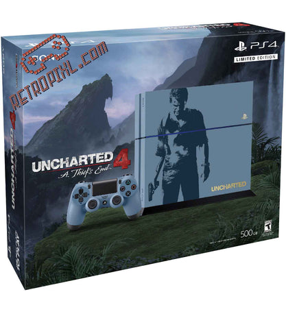 Sony Playstation 4 (PS4) Uncharted Limited Edition Bundle