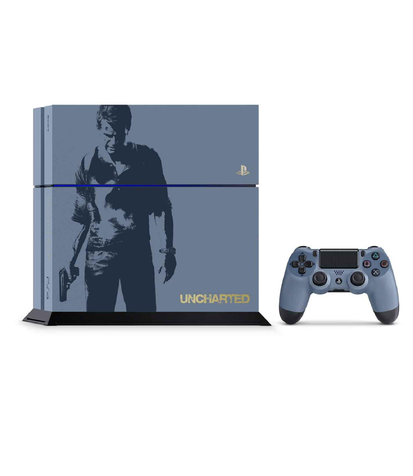 RetroPixl Sony Playstation 4 (PS4) Uncharted Limited Edition