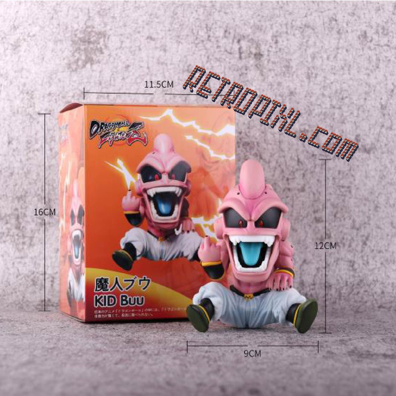 RetroPixl Retrogaming Toys Collectibles  Dragon Ball Fighter Z kid Buu