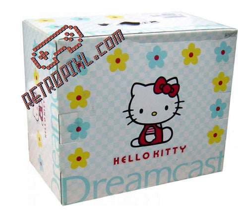 Sega Dreamcast Hello Kitty LIMITED EDITION