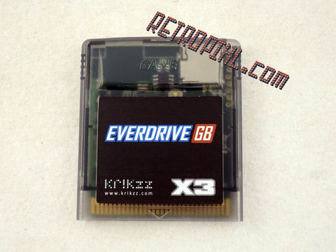 Retropixl, retrogaming, nintendo game boy, nintendo, game boy, evedrive, everdrive x3, nintendo everdrive