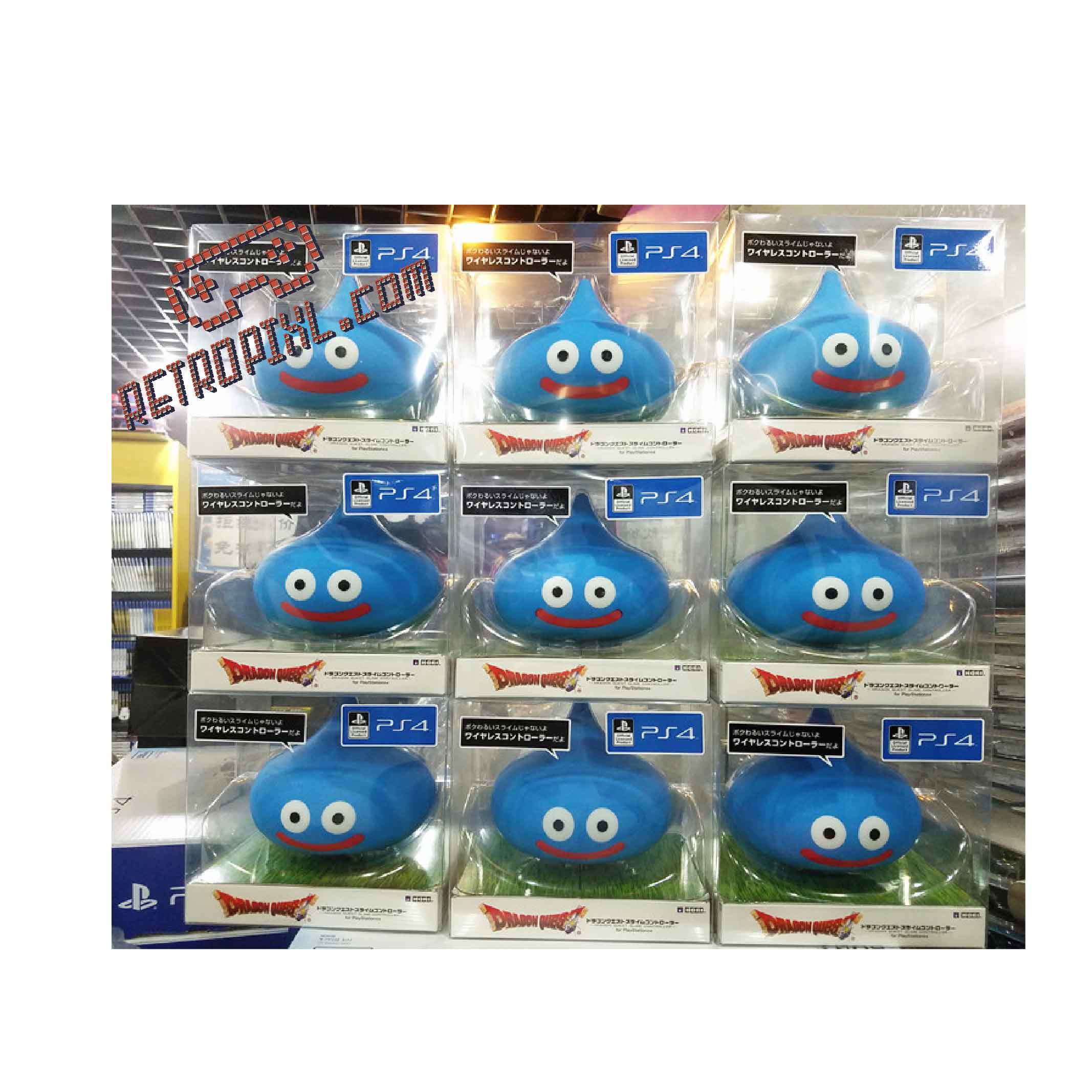 RetroPixl Retrogaming Limited Edition Hori - Dragon Quest Slime Controller for Playstation 4 (PS4)