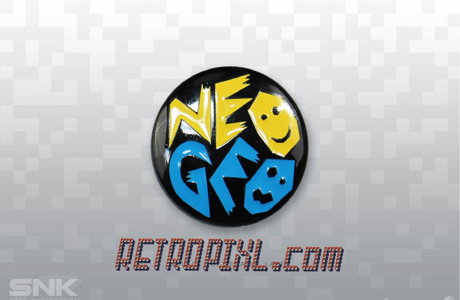 retrogaming Retropixl Badge SNK Neo Geo limited edition pins neogeo