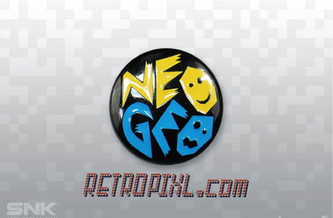 SNK Neo Geo Pins/Badge - LIMITED EDITION