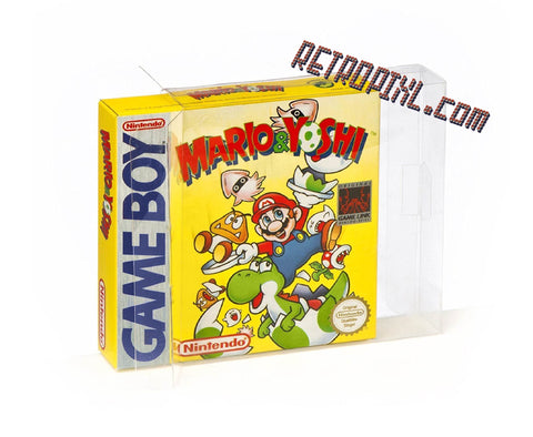 Nintendo Game Boy - Game Box Crystal Clear Protector