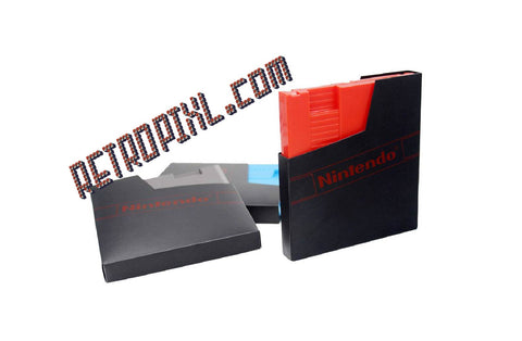Retropixl retrogaming Nintendo NES game sleeve protective anti dust.