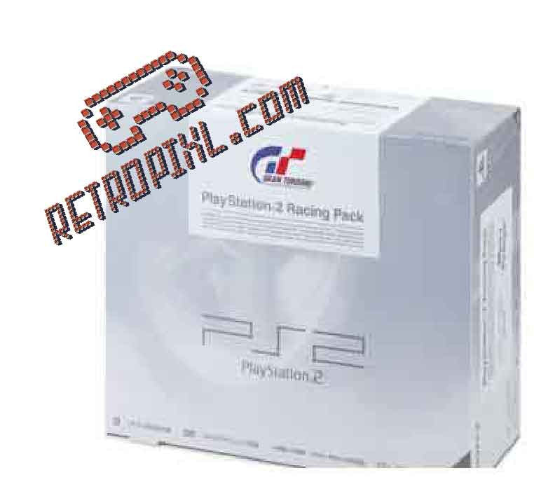 Sony Playstation 2 (PS2) Gran Turismo 4 Prologue Pack LIMITED EDITION Ceramic White