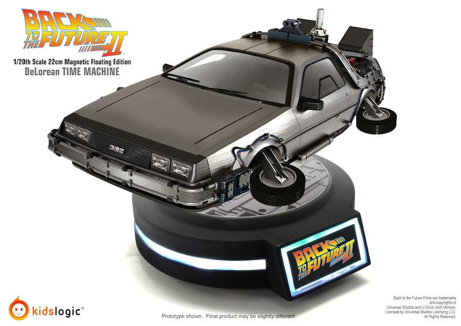 Floating DeLorean Time Machine - Back to the Future