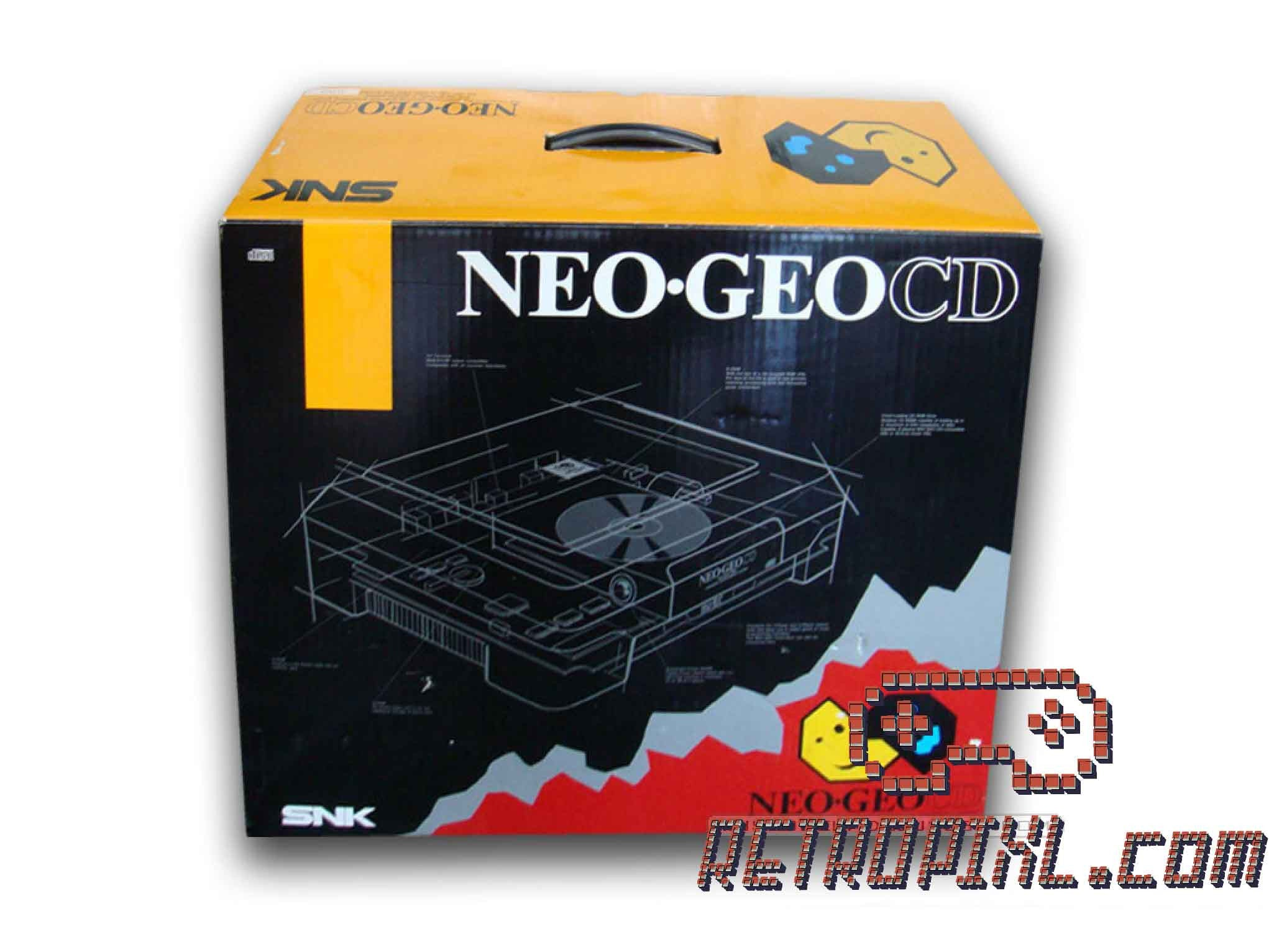 SNK Neo Geo CD Front Loading