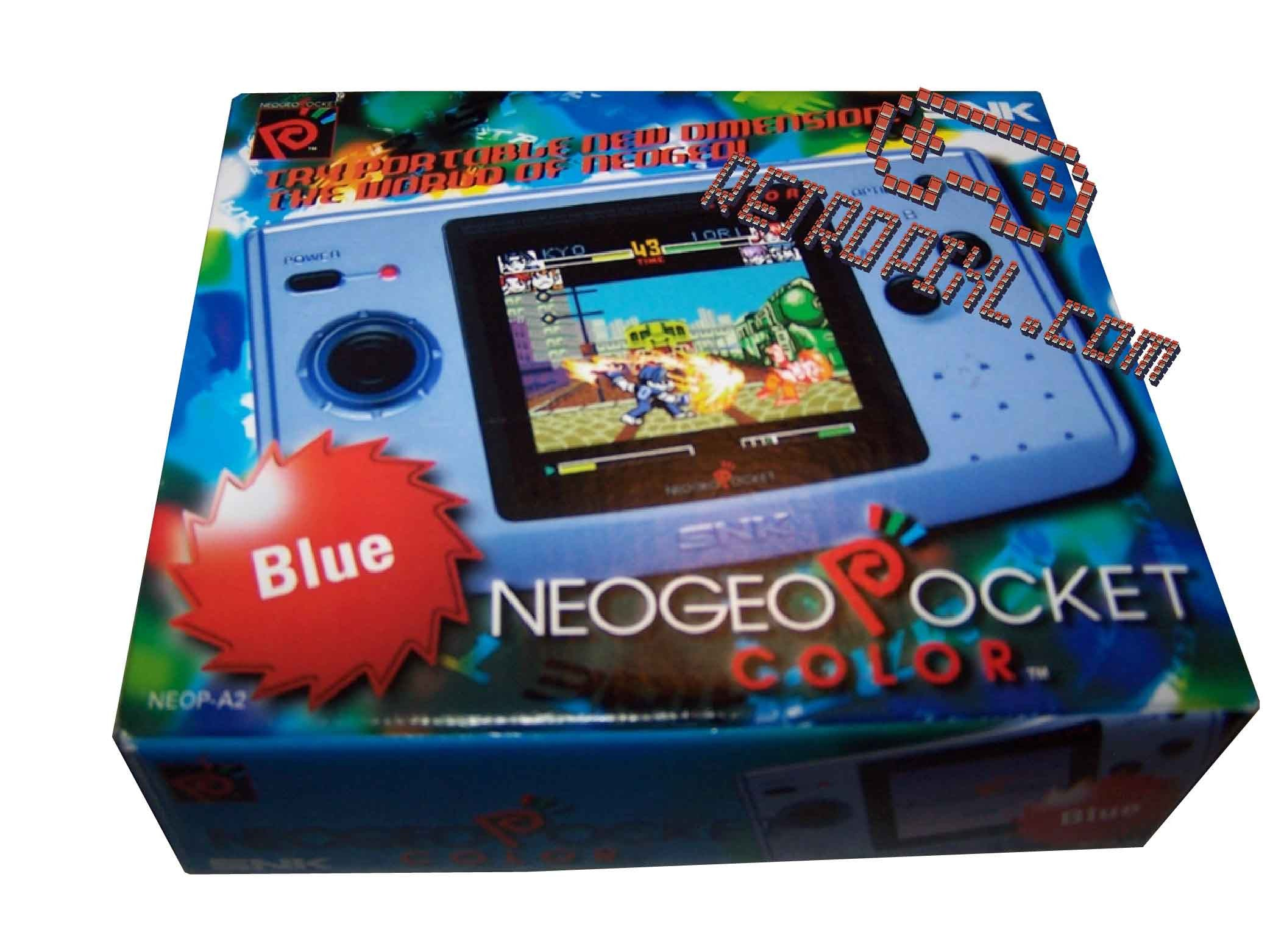 RetroPixl Retrogaming SNK Neo Geo pocket Color