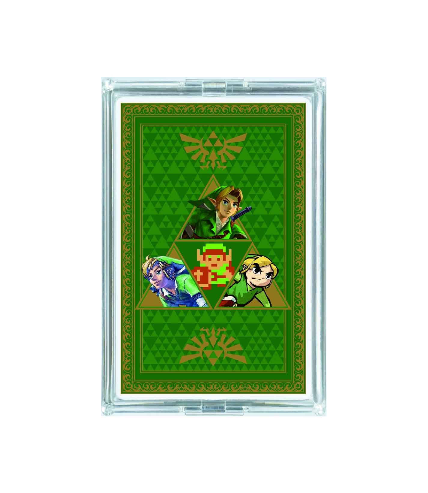 RetroPixl retrogaming Playing Cards Zelda Limited Edition