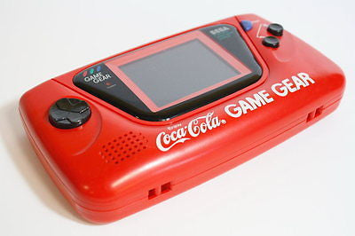 Sega Game Gear Enjoy Coca Cola LIMITED EDITION