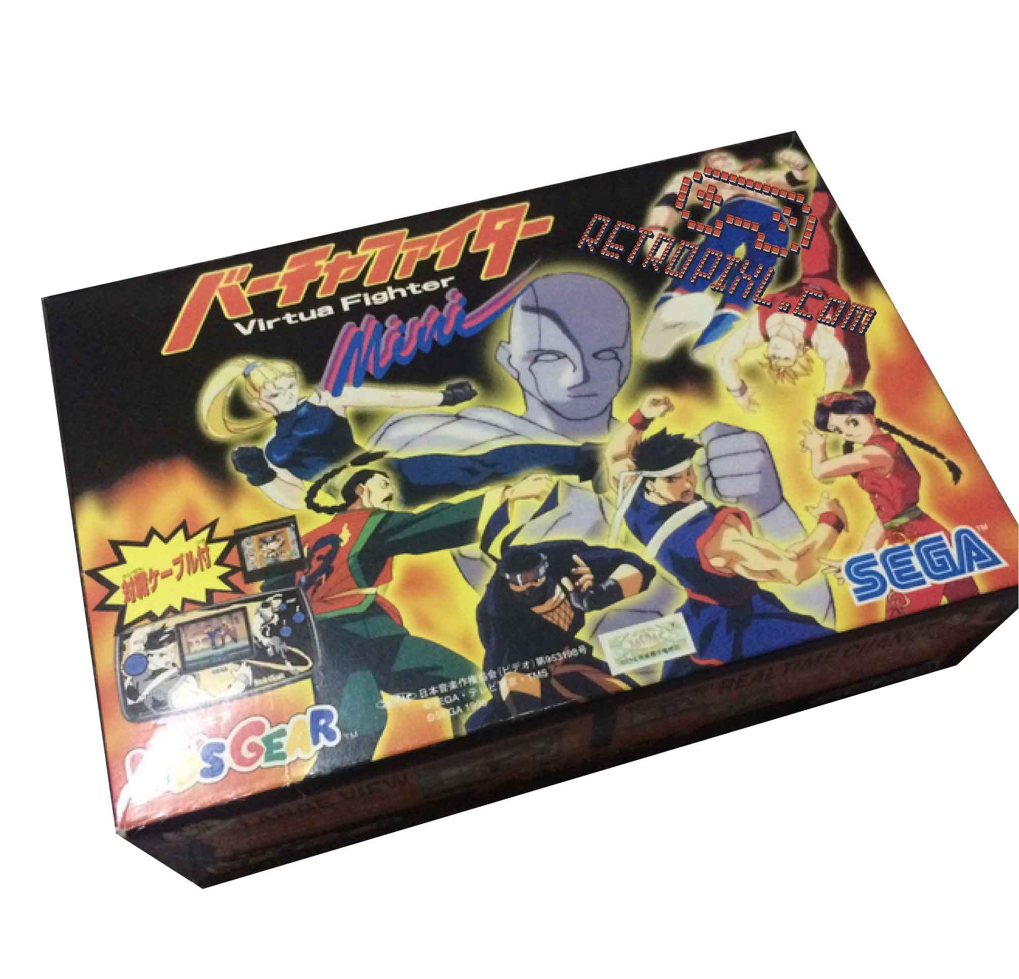 Sega Game Gear Virtua Fighter Kids Gear
