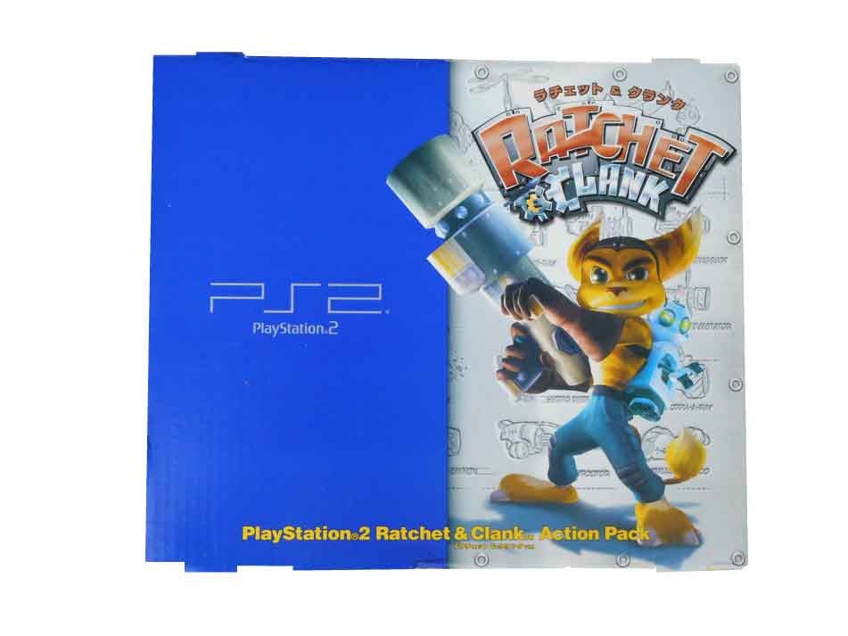 Sony Playstation 2 Ratchet & Clank Retropixl Retrogaming retro gaming Rare Console Collector Limited Edition Japan Import