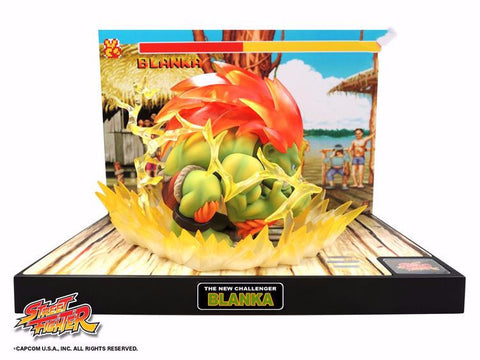Street Fighter The New Challenger Figure 05 - Blanka Retropixl Retrogaming retro gaming Rare Console Collector Limited Edition Japan Import