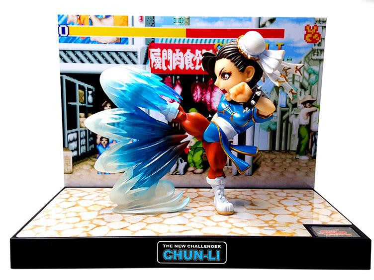 Street Fighter The New Challenger Figure 03 - Chun-Li Retropixl Retrogaming retro gaming Rare Console Collector Limited Edition Japan Import