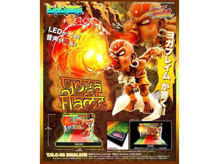 Street Fighter The New Challenger Figure 06 - Dhalsim Retropixl Retrogaming retro gaming Rare Console Collector Limited Edition Japan Import