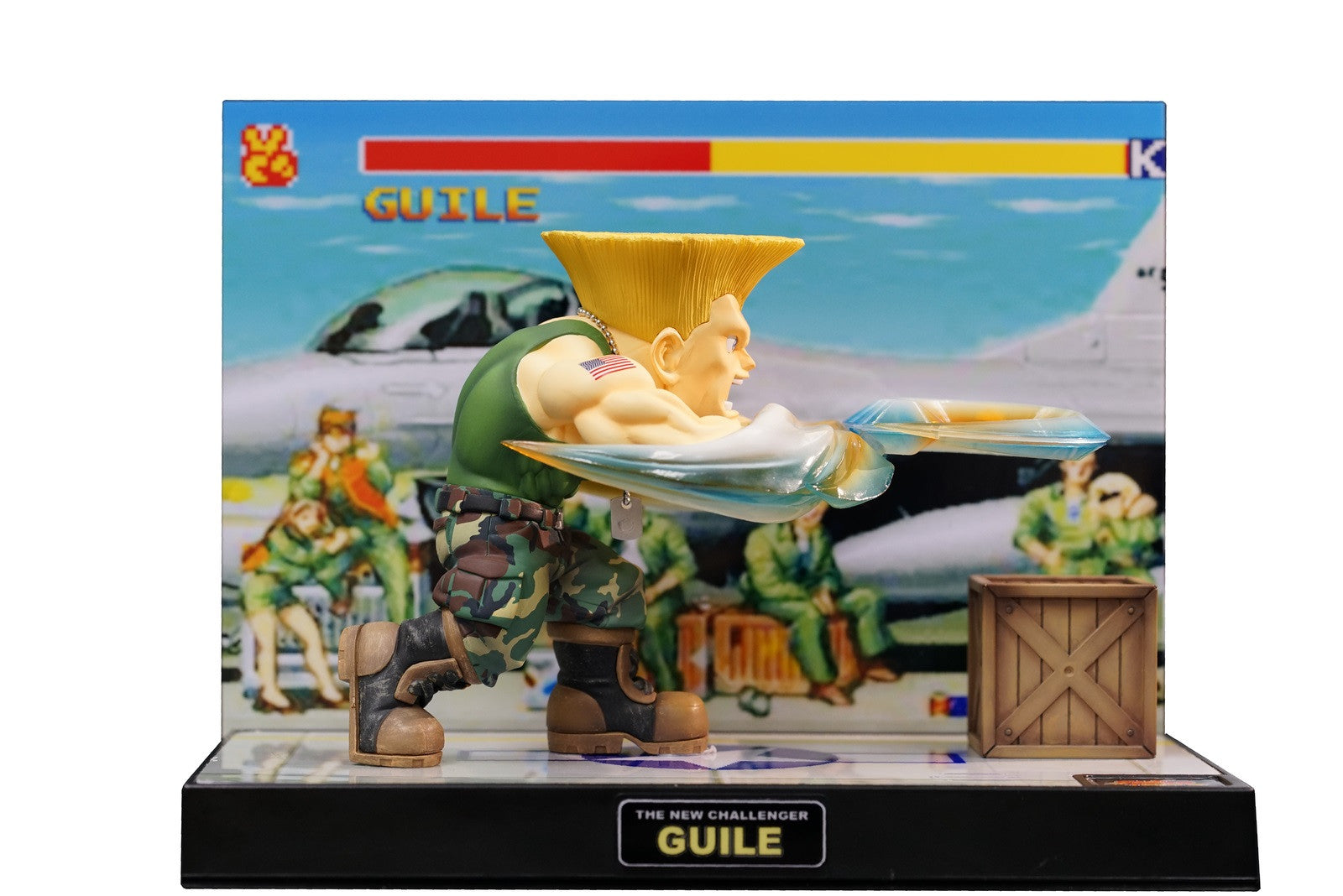 Street Fighter The New Challenger Figure 04 - Guile Retropixl Retrogaming retro gaming Rare Console Collector Limited Edition Japan Import