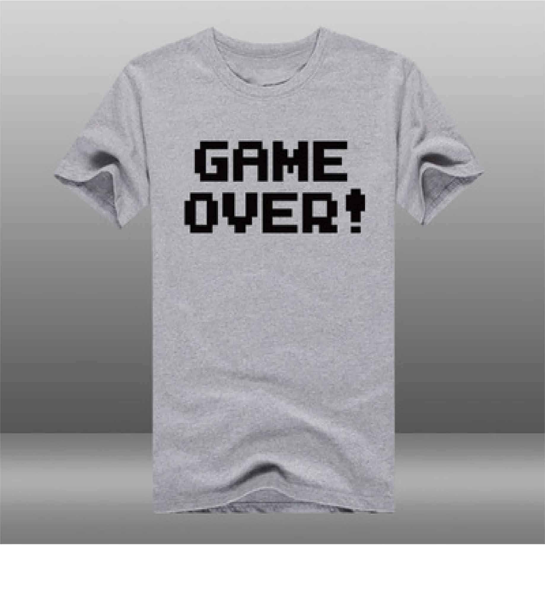 T-Shirt Game Over Pixel Retropixl Retrogaming retro gaming Rare Console Collector Limited Edition Japan Import