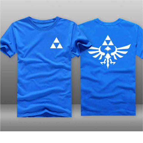 T-Shirt Retrogaming Zelda Triforce