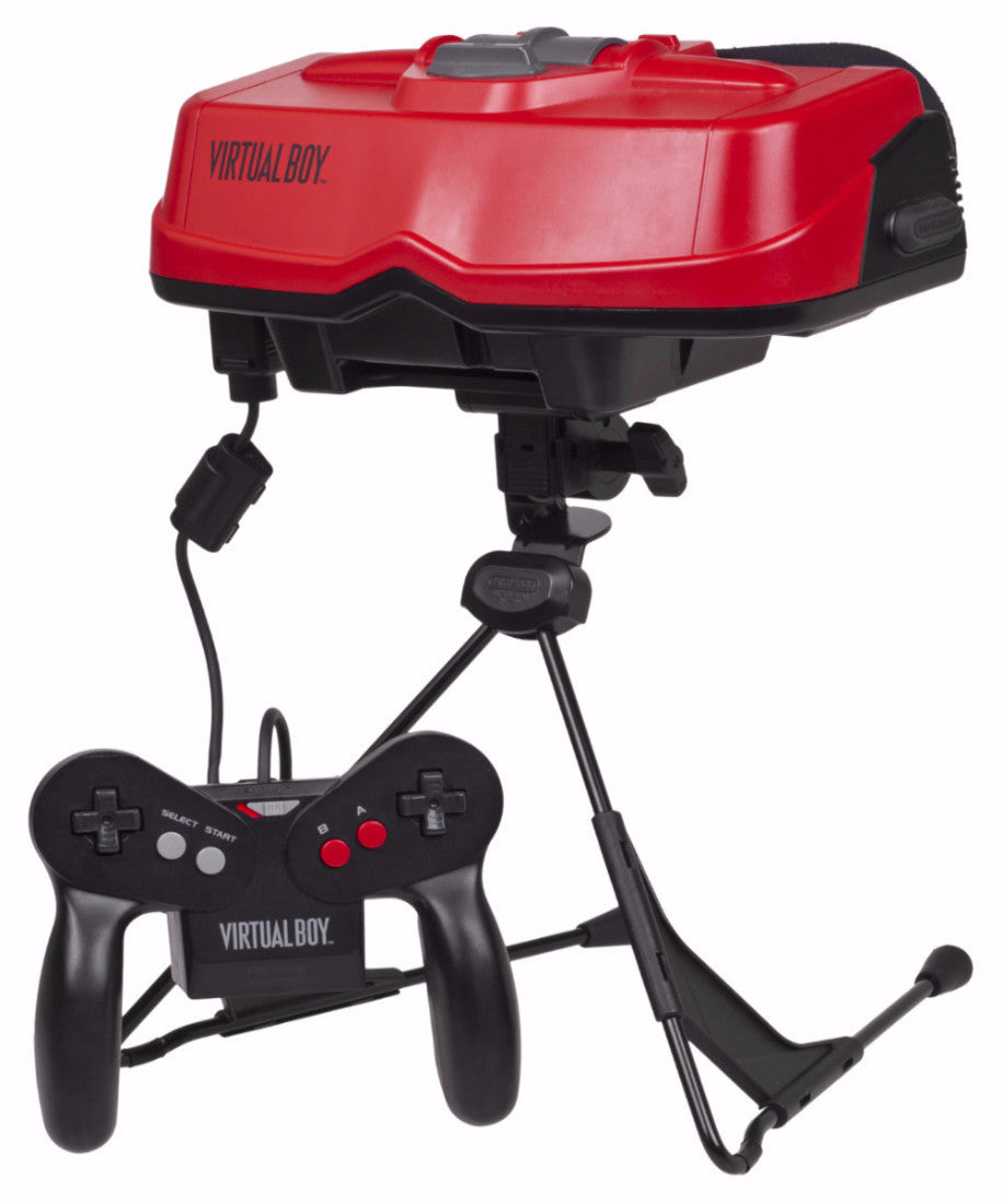 Nintendo Virtual Boy Retropixl Retrogaming retro gaming Rare Console Collector Limited Edition Japan Import